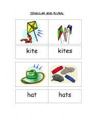 singular and plural nouns worksheets for kindergarten free