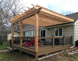 Attaching Pergola To House by Pergola On Deck U2013 Bowhuntingsupershow Com