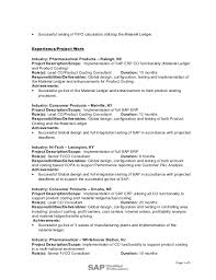 Erp Implementation Resume Sample by Basho Stephen Resume 02 2016