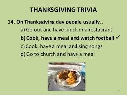 thanksgiving trivia 2017