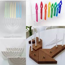 lucite menorah acrylic lucite clear modern menorah from jo nad designs my