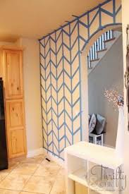 Wall Paintings Designs So How Cool Is This A Foil Taped Wall What A Great Way To Add
