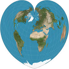 Best Map The World S Best Map Projection Numbers And Shapes Of Projections