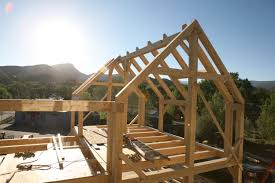 black canyon builders timber frame raising and construction