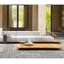 Teak Sectional Patio Furniture by Outdoor Teak Patio Garden Recycled Homeinfatuation Com