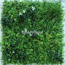 Vertical Wall Garden Plants by Lush White Artificial Vertical Garden Plants Wall Dongyi