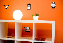 Wall Decor Ideas For Office Colorful Offices Of Creative Studio 3fs
