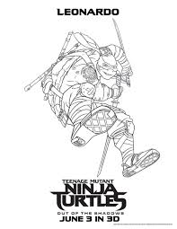 ninja turtles shadows coloring pages coloring