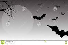 black and white halloween background silhouette silhouette of bat halloween stock vector image 73198322