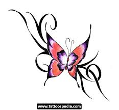 Flower Butterfly Tattoos 01 Tattoos Butterfly Designs 01 Http Tattoospedia Com Tattoos