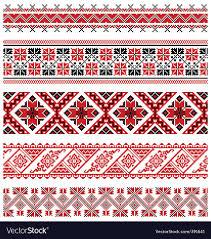 ukrainian ornaments ukrainian embroidery ornament royalty free vector image