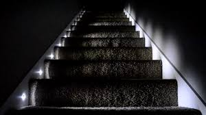 titan homes stair lighting