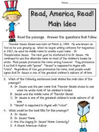 idea and best title worksheets read america read includes