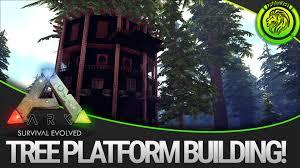 ark survival evolved tree platform fortress guide