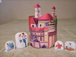cute free printable ariel castle handicrafts
