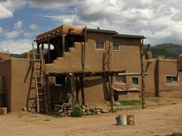 adobe house and drying rack taos pueblo new mexico flickr