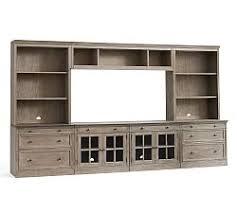 Modular Cabinets Living Room Livingston Collection Pottery Barn