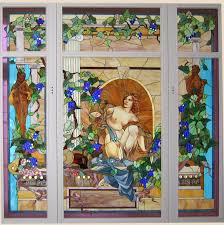 Stained Glass Kitchen Cabinet Doors by Casa Loma Stained Glass Artisan Stained Glass Window 6