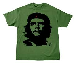 che guevara sleeve olive green t shirt with classic che - Che Guevara T Shirt
