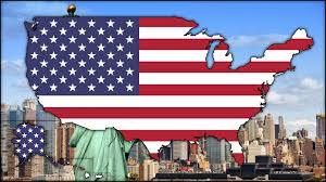 Map Of The States Of The United States by Flag Map Of The United States Of America Speedart Youtube