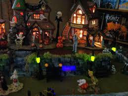 spooky town lemax spookytown displays 2009