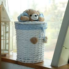 wooden laundry hamper with lid aliexpress com buy woven wicker baskets round laundry hamper