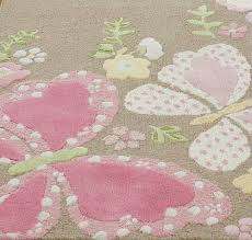 Ebay Pottery Barn Rugs Pottery Barn Camille Butterfly Rug 3x5 Brand New Pottery