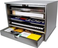 Desk Top Organizer by Amazon Com Victor Wood Desktop Organizer With Closing Door