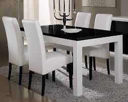table de cuisine blanche table manger design ensemble oslo noir table de cuisine et salle