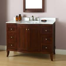 Bathroom Vanity  Inch  Loisherrus - Bella 48 inch bathroom vanity white