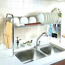 over the sink dish drying rack dish drying rack home dish drying rack over sink greatdailydeals co