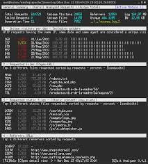 nginx access log analyzer goaccess visual apache nginx log analyzer ubuntu
