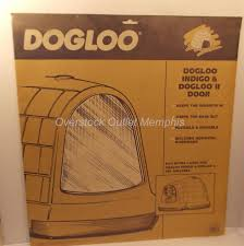 Petmate Indigo Dogloo Xt Door U0026 Petmate Indigo Dog House Door Product Review Video