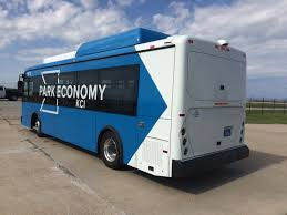 volkswagen electric bus kansas city airport deploys byd fully electric buses for passenger