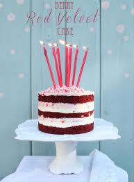 berry red velvet cake u2014 style sweet ca