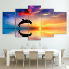 ocean decorations for home online shop new 5 pieces sets canvas art canvas paintings ocean