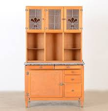 Kitchen Hoosier Cabinet Oak Kitchen Hutch With Hoosier Cabinet Ebth