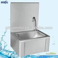 restaurant hand washing sink stainless steel knee operated hand washing sink china manufacturer
