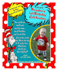 How To Write A Birthday Invitation Card Dr Seuss Birthday Invitations Dhavalthakur Com