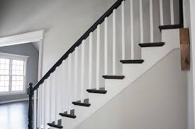 Banister Rails For Stairs Black Railing You U0027re So Martha