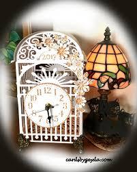 beautiful clocks craft creations vintage wedding clock mantle paper cage clocks