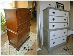 Repurposed Furniture Before And After by The House Enthusiast 2014