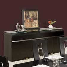 dark wenge espresso dining sideboards servers credenzas buffets