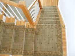 rug runners contemporary single landing stair runner installations stair runner store
