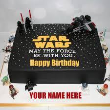 wars birthday cakes happy birthday wars birthday cake with your name