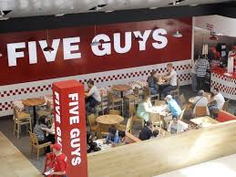 five guys coming to burlington town center
