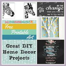 free printable art home decor free printable art 14 great projects for your home