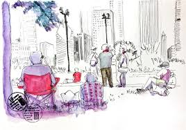 day 2 happy mistakes cityscapes made easy intimate sketches and