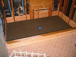 how to build shower pan on slab floor hunker
