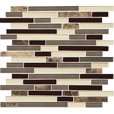 Elegance Black And White Mosaic by Shop Tile At Lowes Com